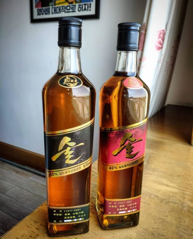 North Korea whiskey