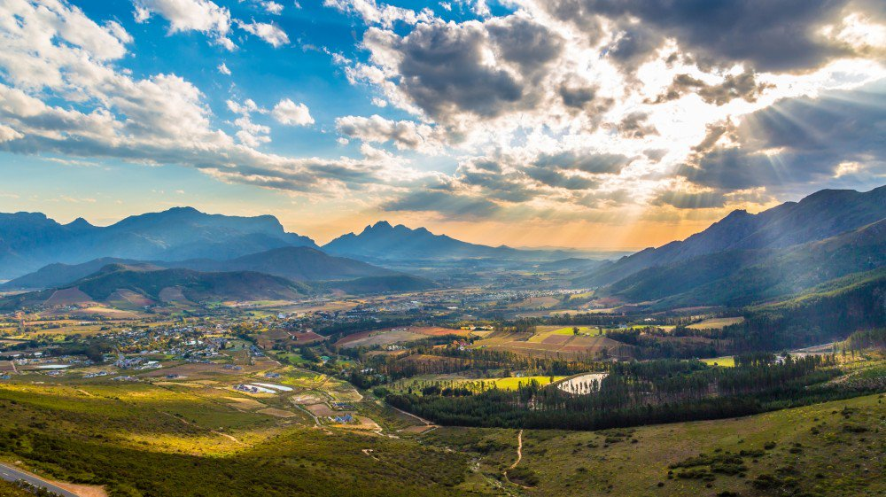 Franschhoek Valley wine regions