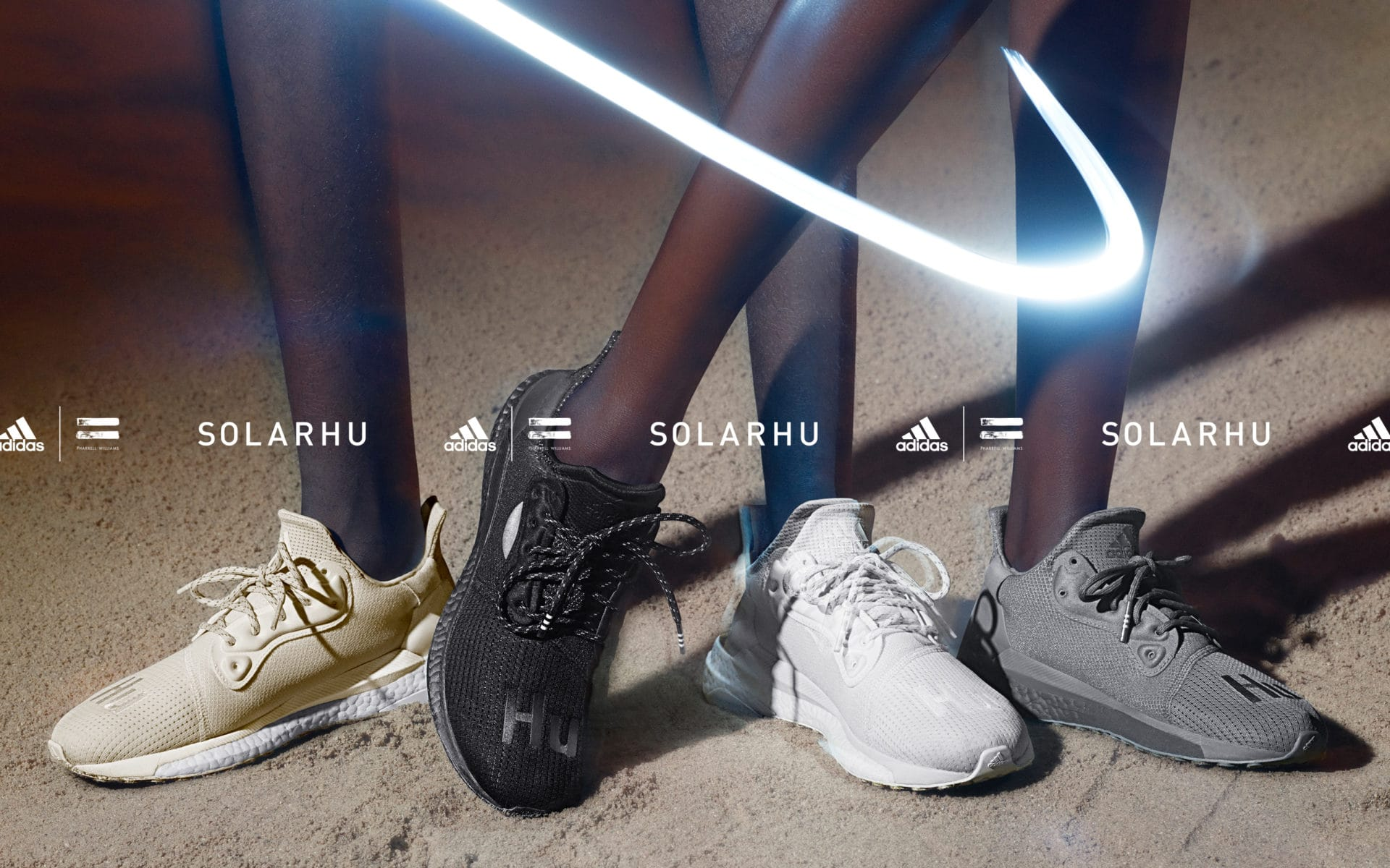 Adidas and Pharrell Williams launch the new SolarHu