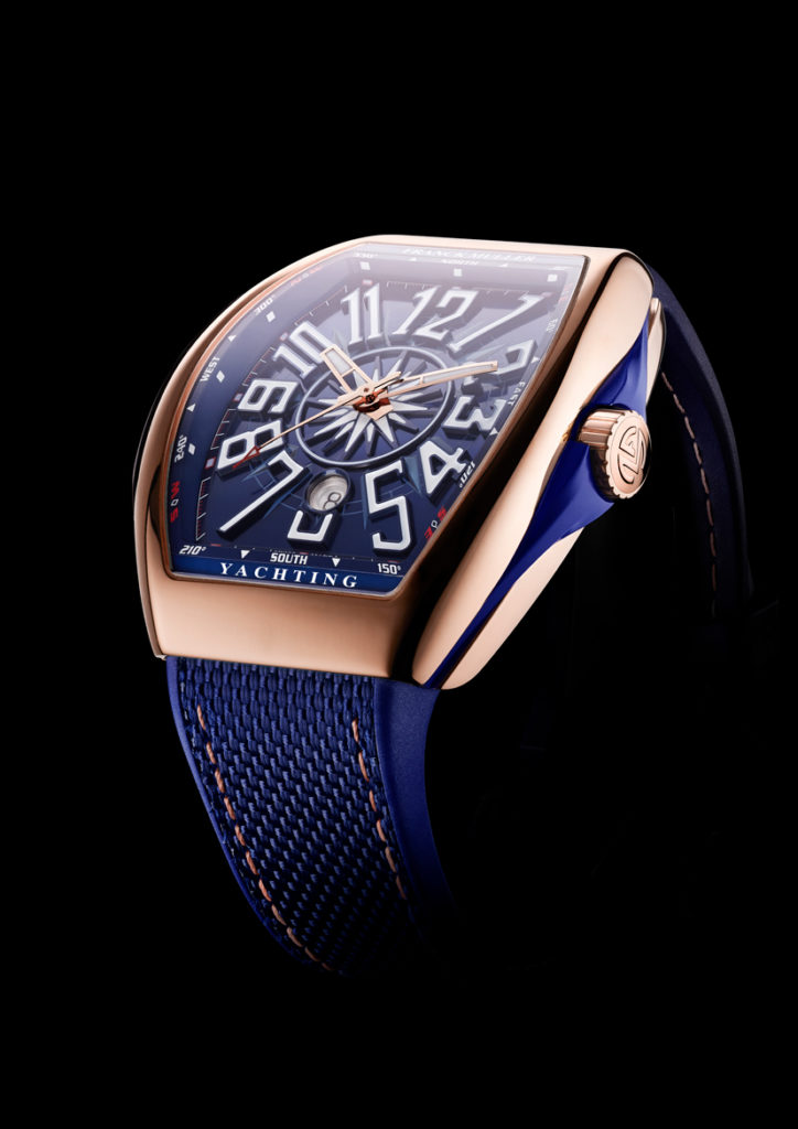 Franck Muller Vanguard Yachting in rose gold