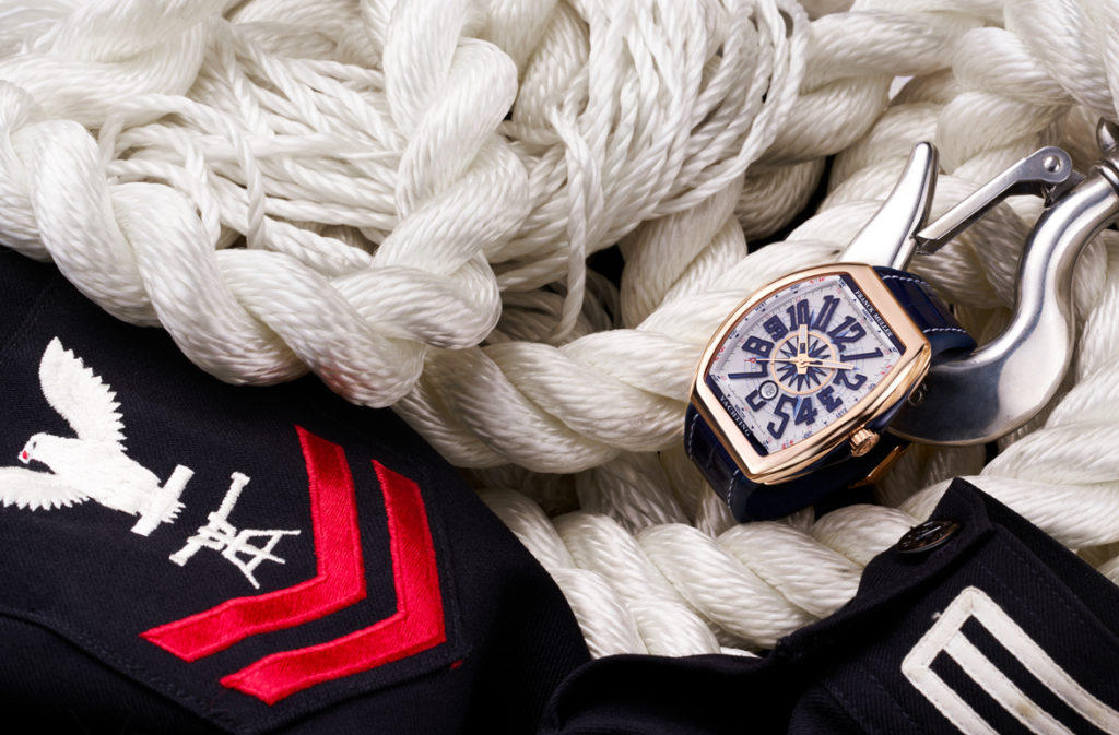 Styled Franck Muller Vanguard Yachting