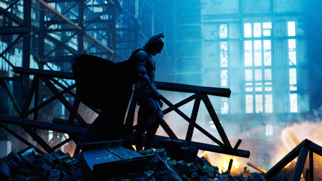 Nostalgia wins: Christopher Nolan's reimagining of the Batman character in The Dark Knight trilogy revolutionised the film industry.