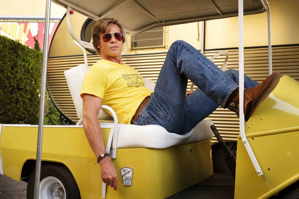 Brad Pitt star in Columbia Pictures ÒOnce Upon a Time in Hollywood""