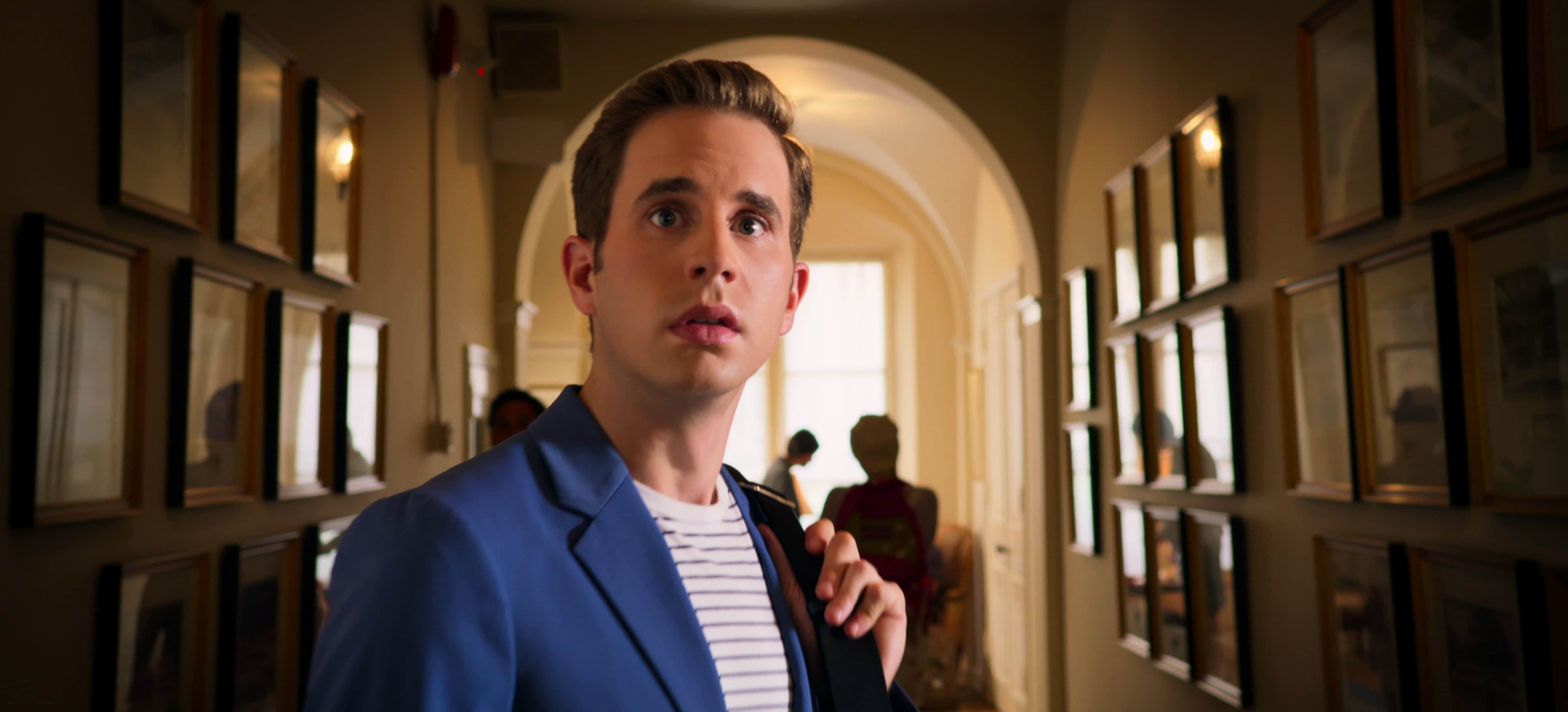 Actor Ben Platt playing as Payton Hobart in Netflix's The Politician