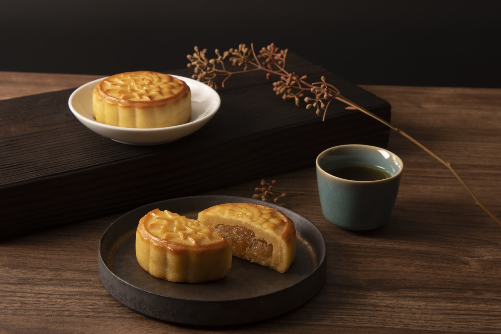 Over the moon with SunnyHills' Pineapple Custard Mooncake