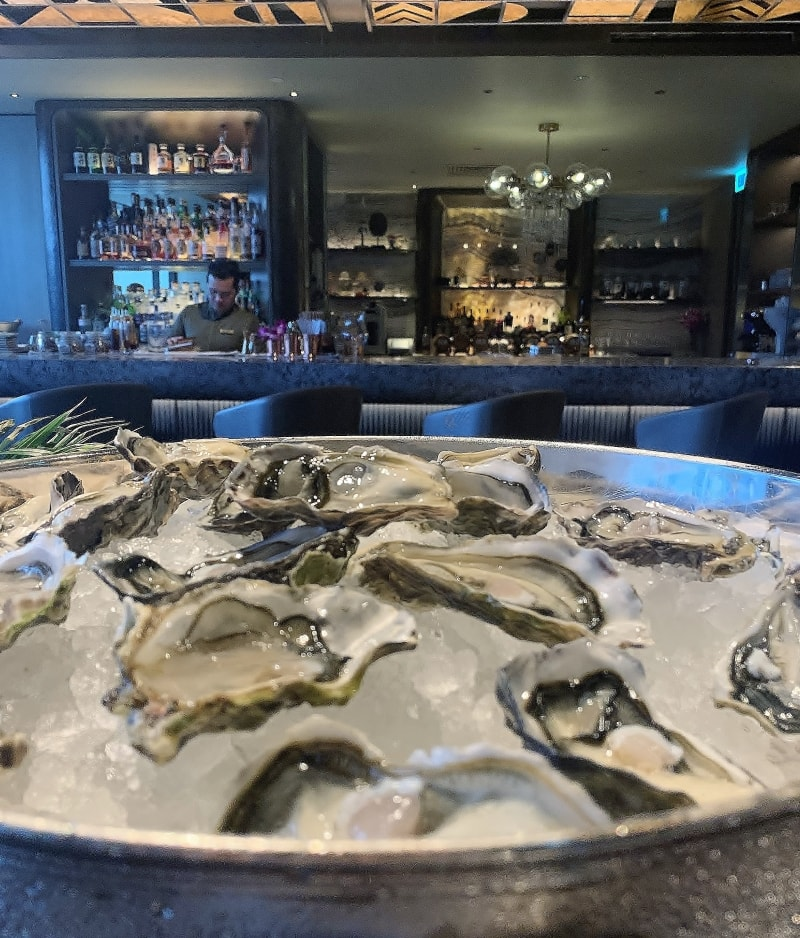 Champagne and Oysters Wednesdays at MO Bar