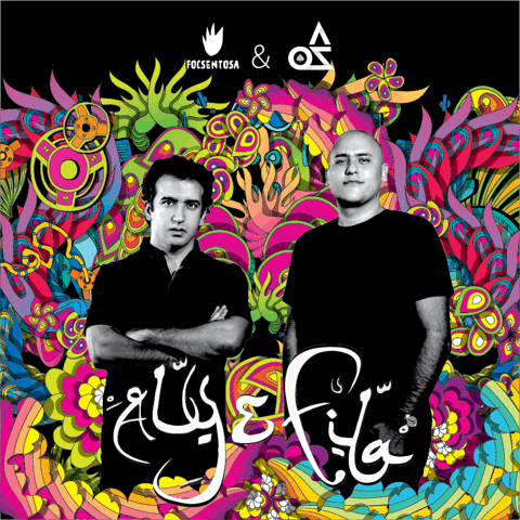 La Playa's headlining act — the Egyptian duo, DJ Aly and Fila.
