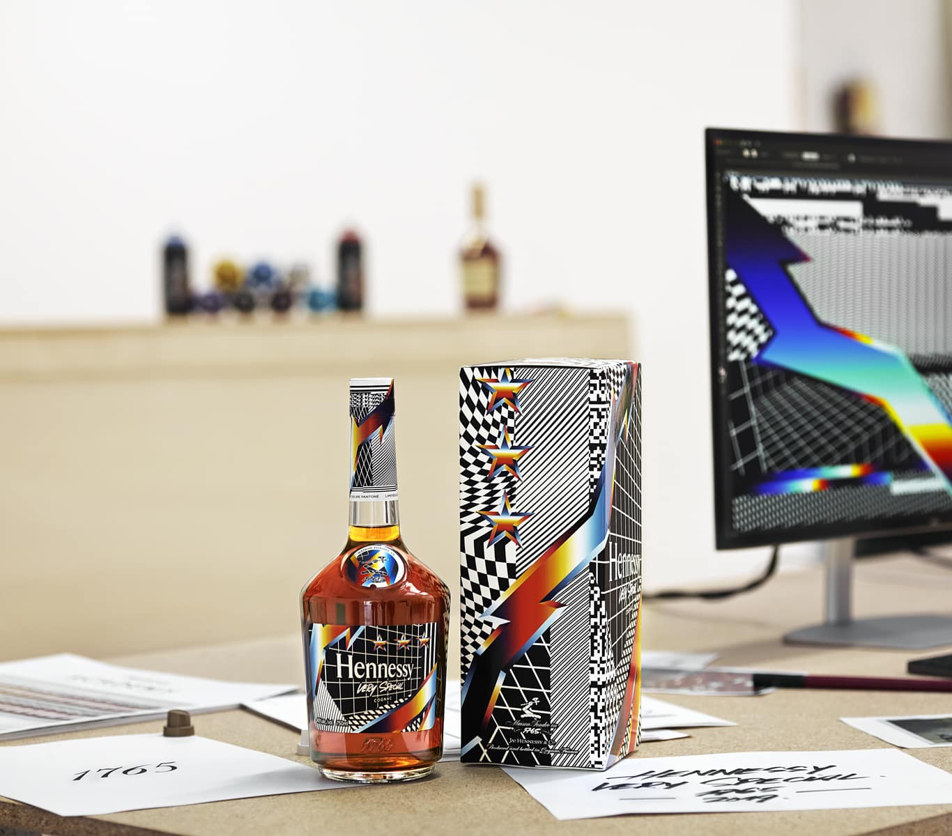 Hennessy Collaborates with Artist Felipe Pantone for its 2019 Very ...