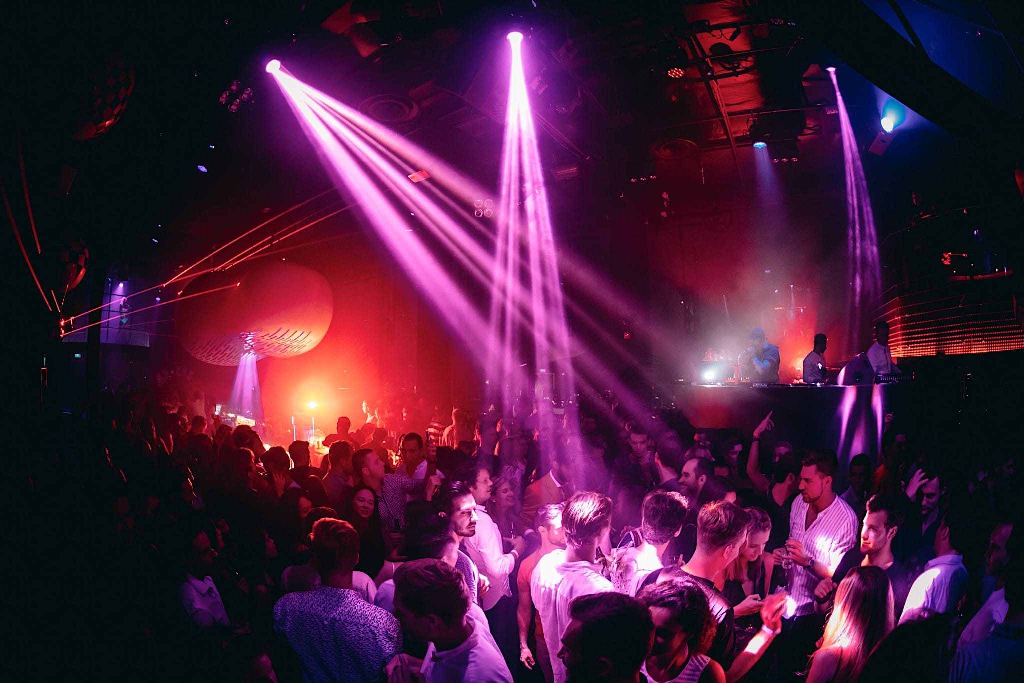 Party the night away at Bar Rouge