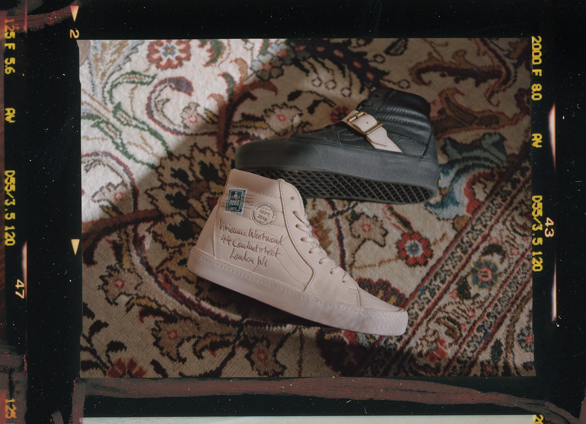 Vivienne Westwood reinterprets iconic Vans models