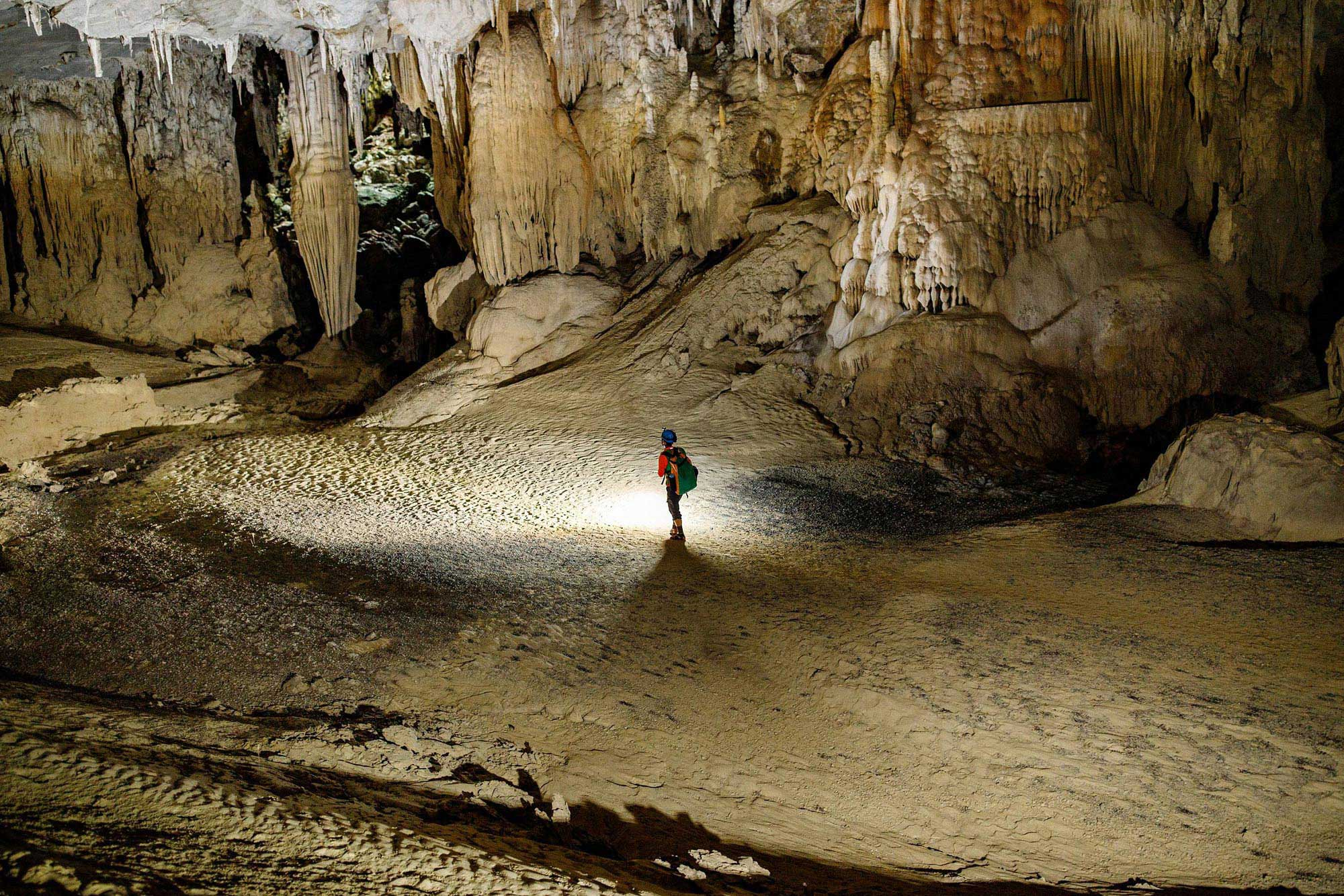 Exploring Vietnam's limestone caves with Montblanc