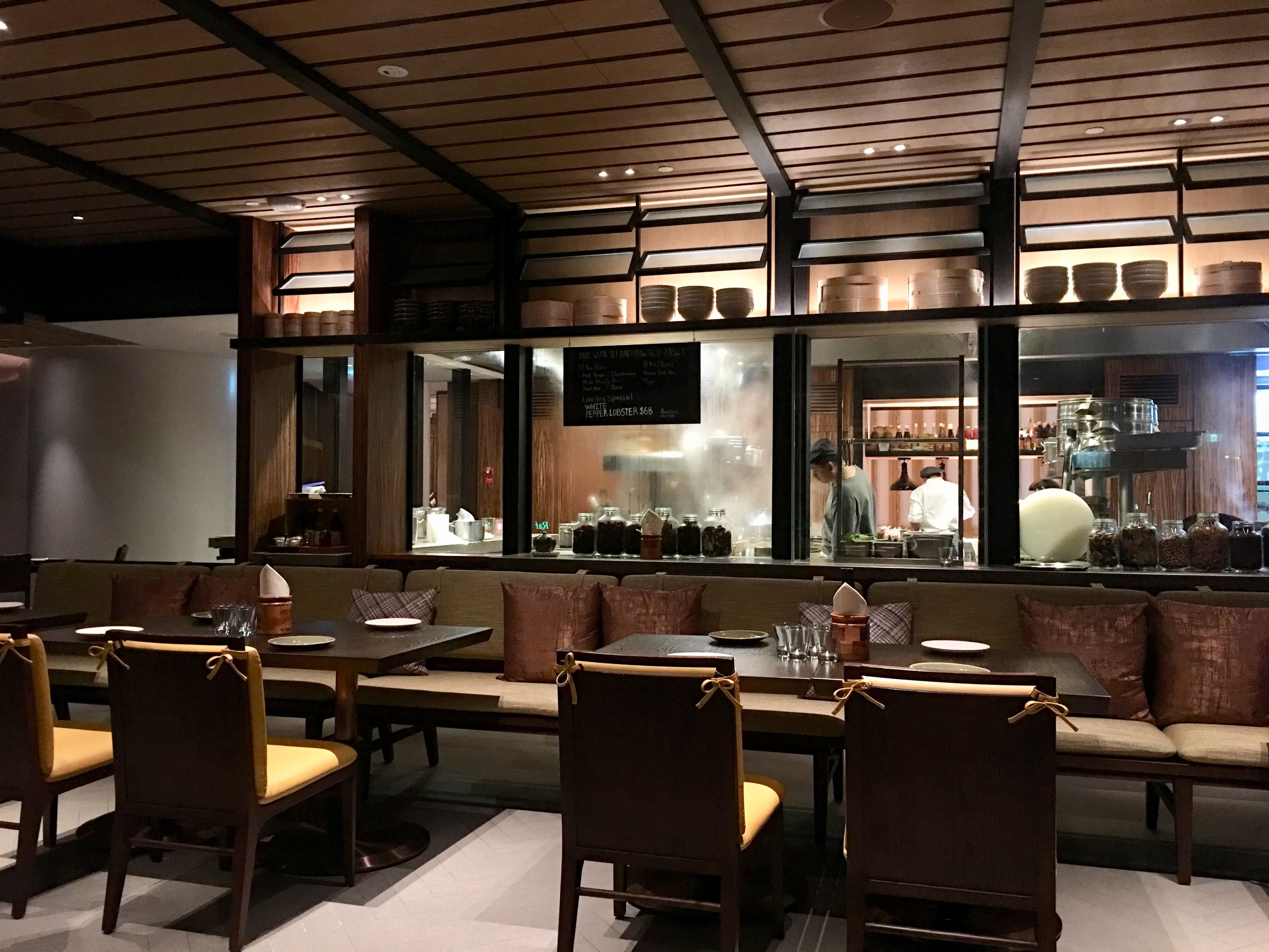 Auntie's Wok and Steam in Andaz Singapore.