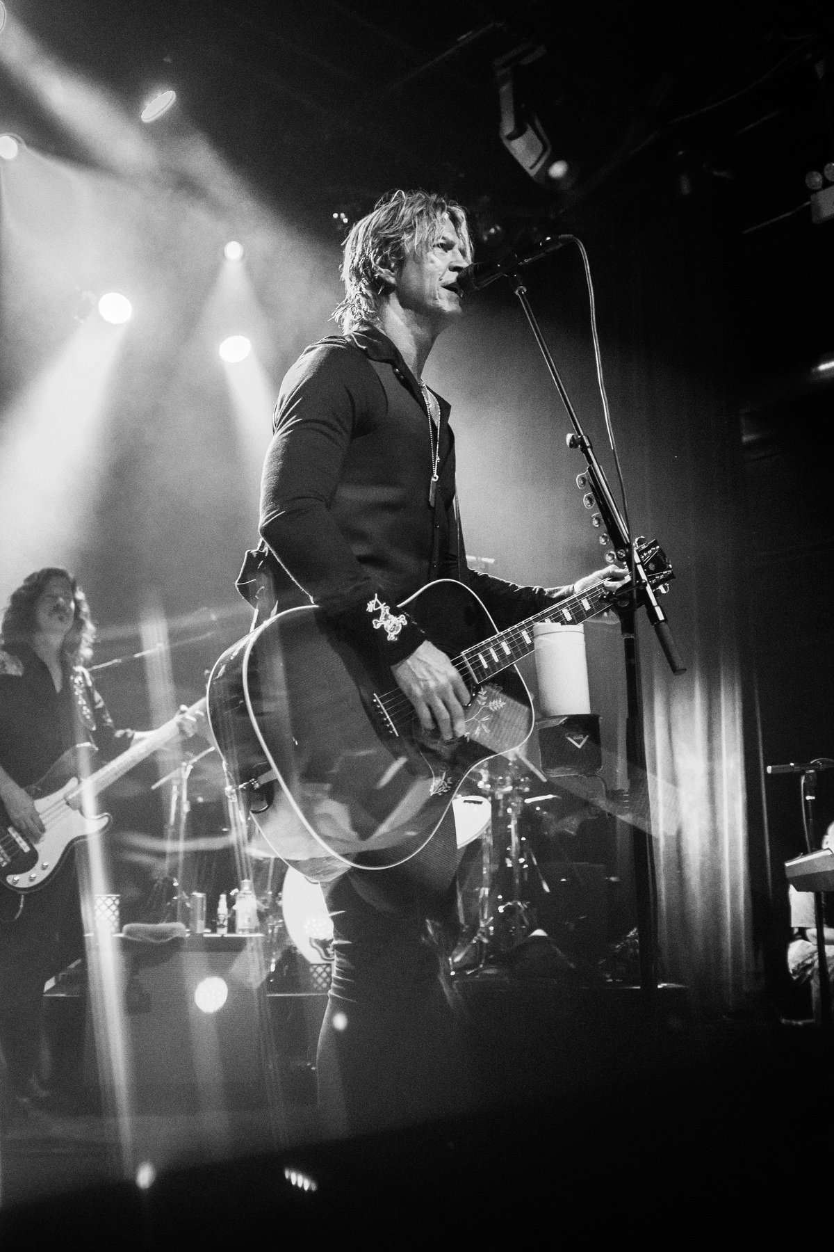 Duff McKagan performing at one of the shows from his recent Tenderness tour