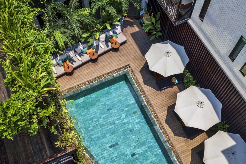 The Aviary's pool is a welcoming sight holiday ideas Oct 2019