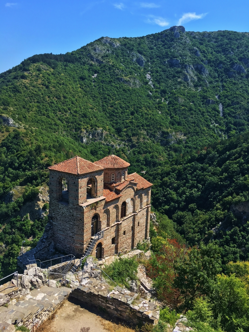 Asenovegrad Fortress, Bulgaria, photographed by Juliana Chan