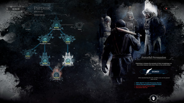 Indie video games: the complex systems and mechanics of Frostpunk