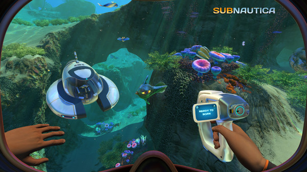 Indie video games: exploration and survival are key themes in this underwater open-world game