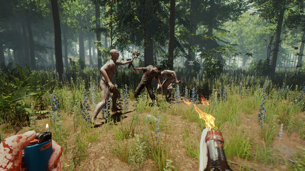 Indie video games: Confronting the cannibalistic mutants with nothing more than a lighter in The Forest