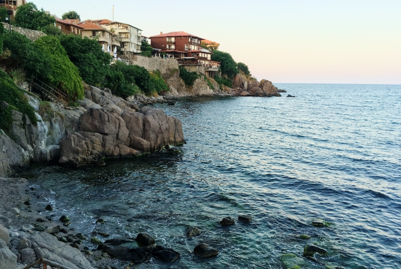 The old town of Sozopol in Bulgaria was encircled by ramparts to protect it from invasion.