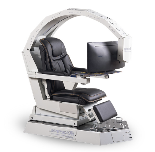 Gaming peripheral gaming chair: IW-R1 Zero Gravity Reclining Workstation Game Chair