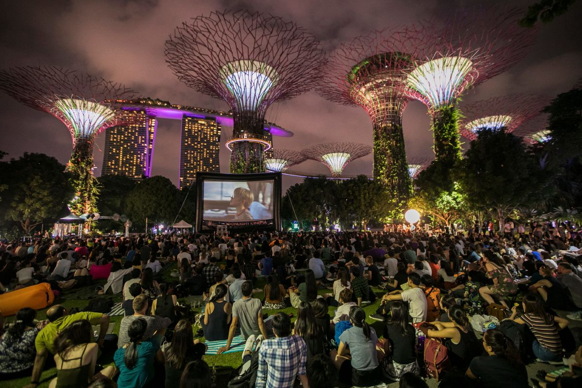 30th SGIFF's Moonlight Cinema at Gardens by the Bay