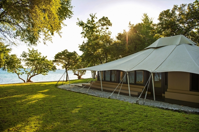 An Amanwana Ocean Facing Tented Accommodation