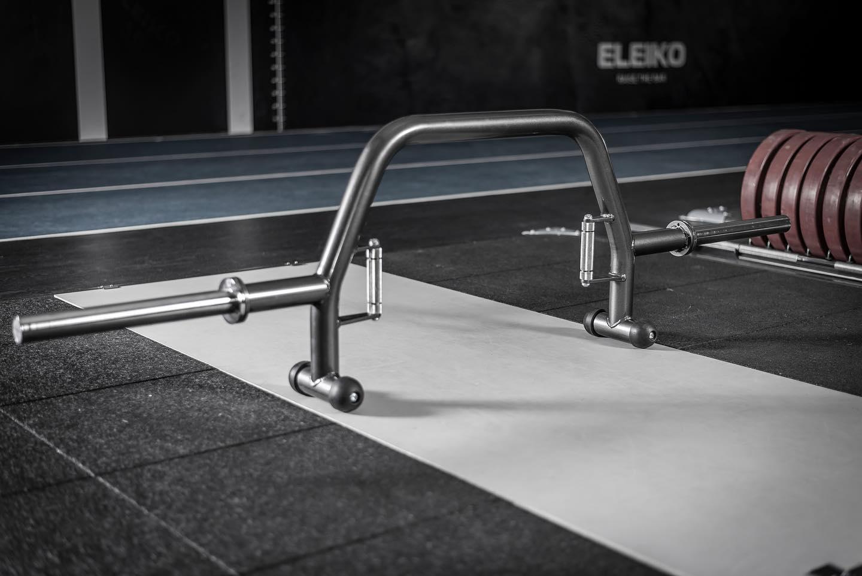 An Eleiko Oppen deadlift bar
