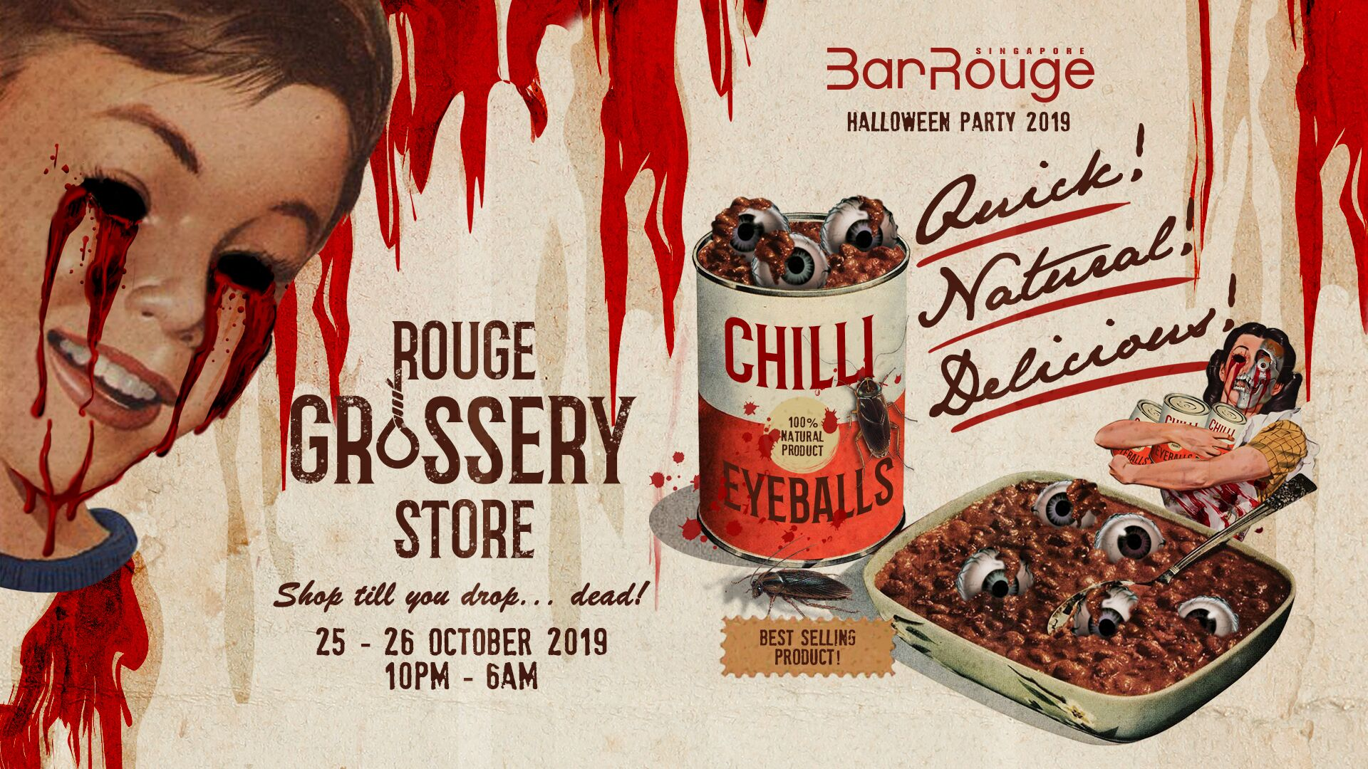The Bar Rouge Halloween event promises to be a gruesome one