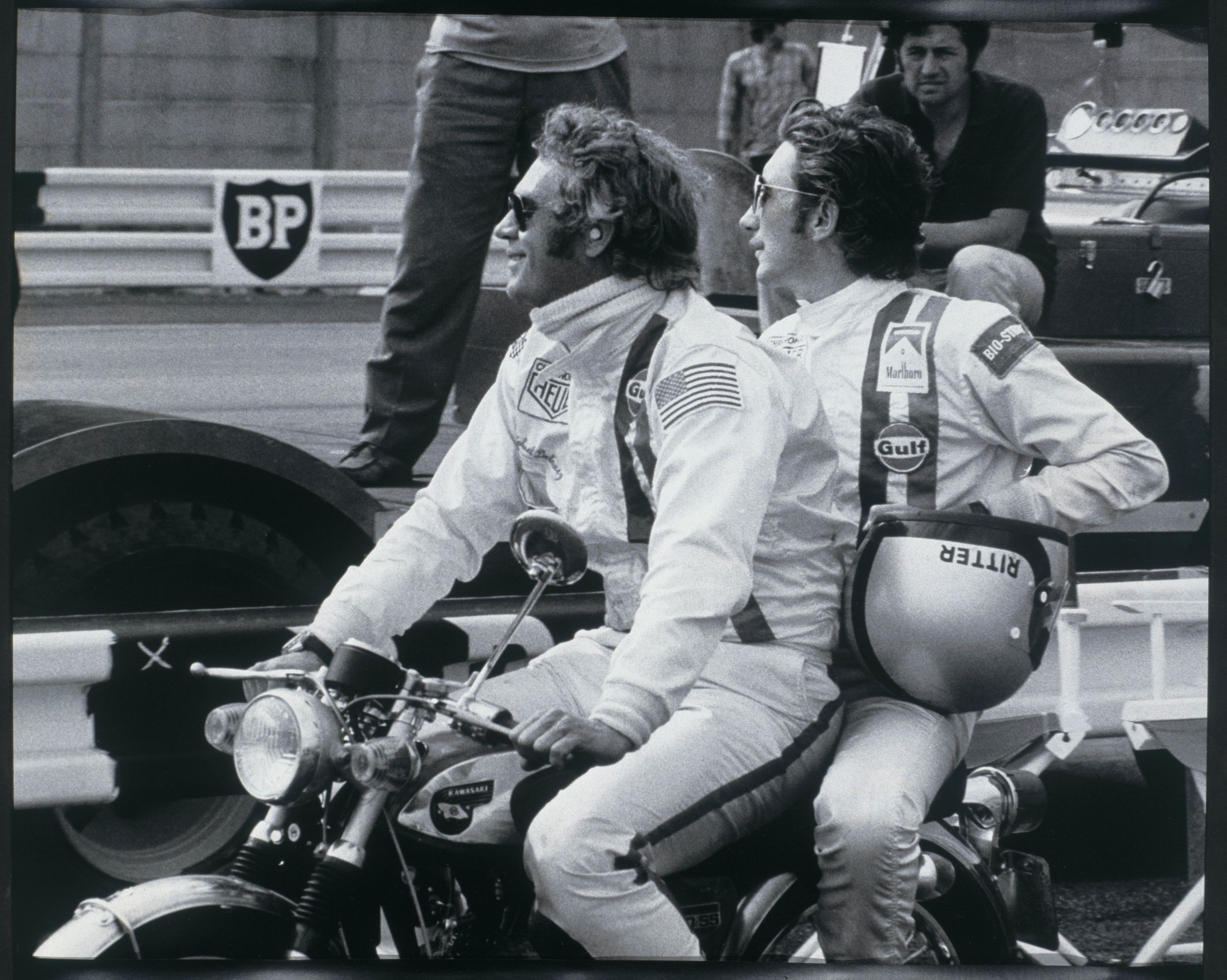 Jo Siffert was instrumental in creating the race car driver image that Steve McQueen adopted in Le Mans