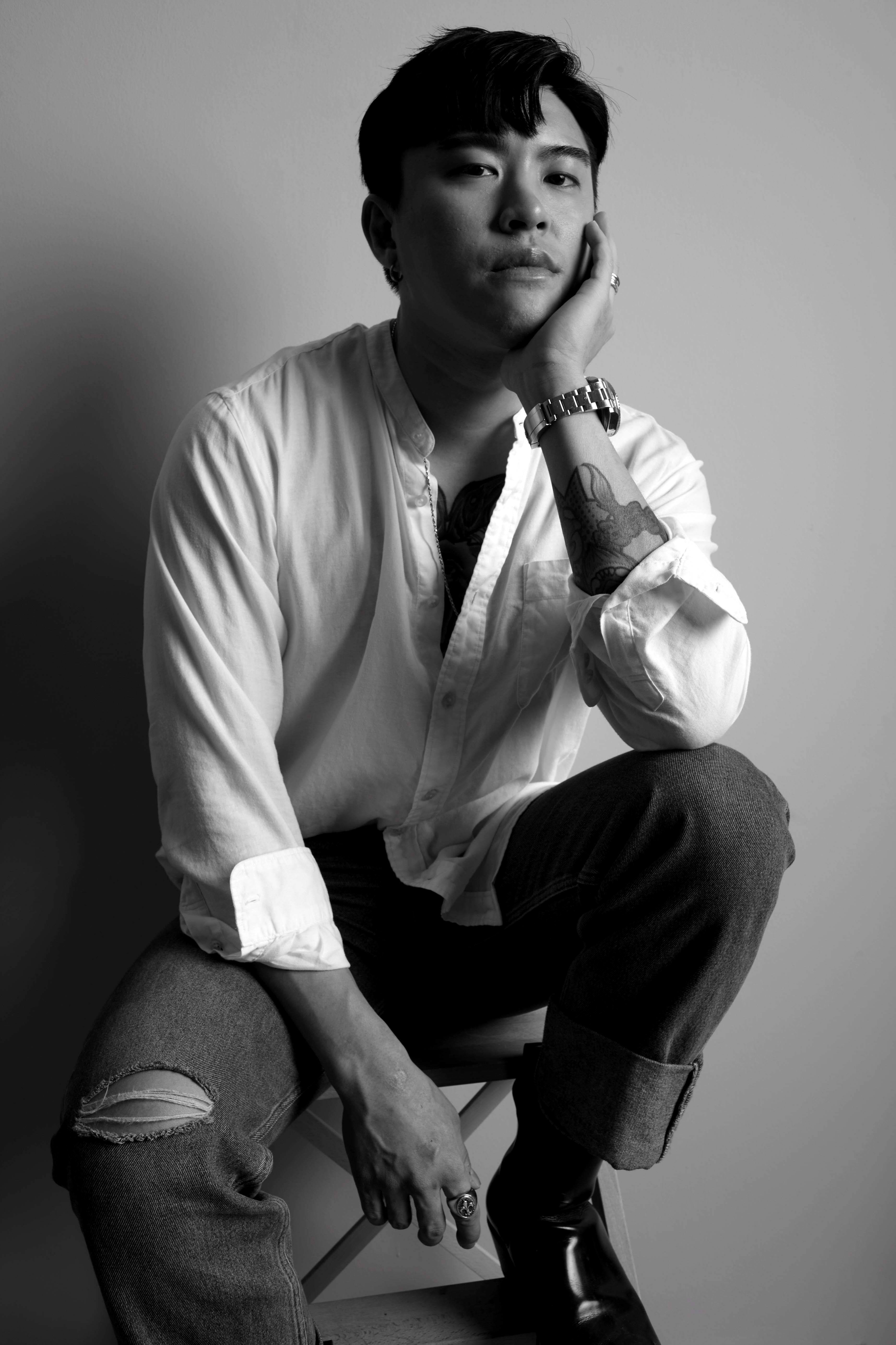 Jake Goh, co-founder of nij design and designer of Izy Fook