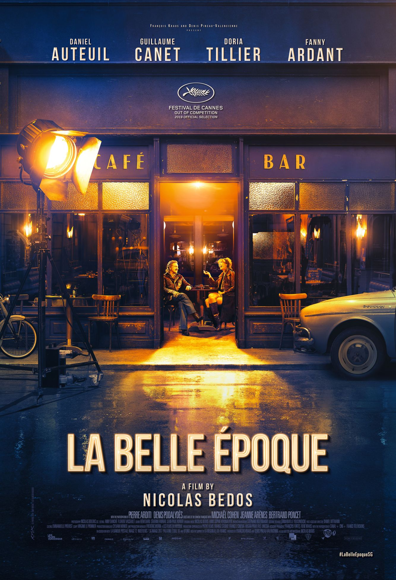 French Film Festival 19': Movie poster of La Belle Époque