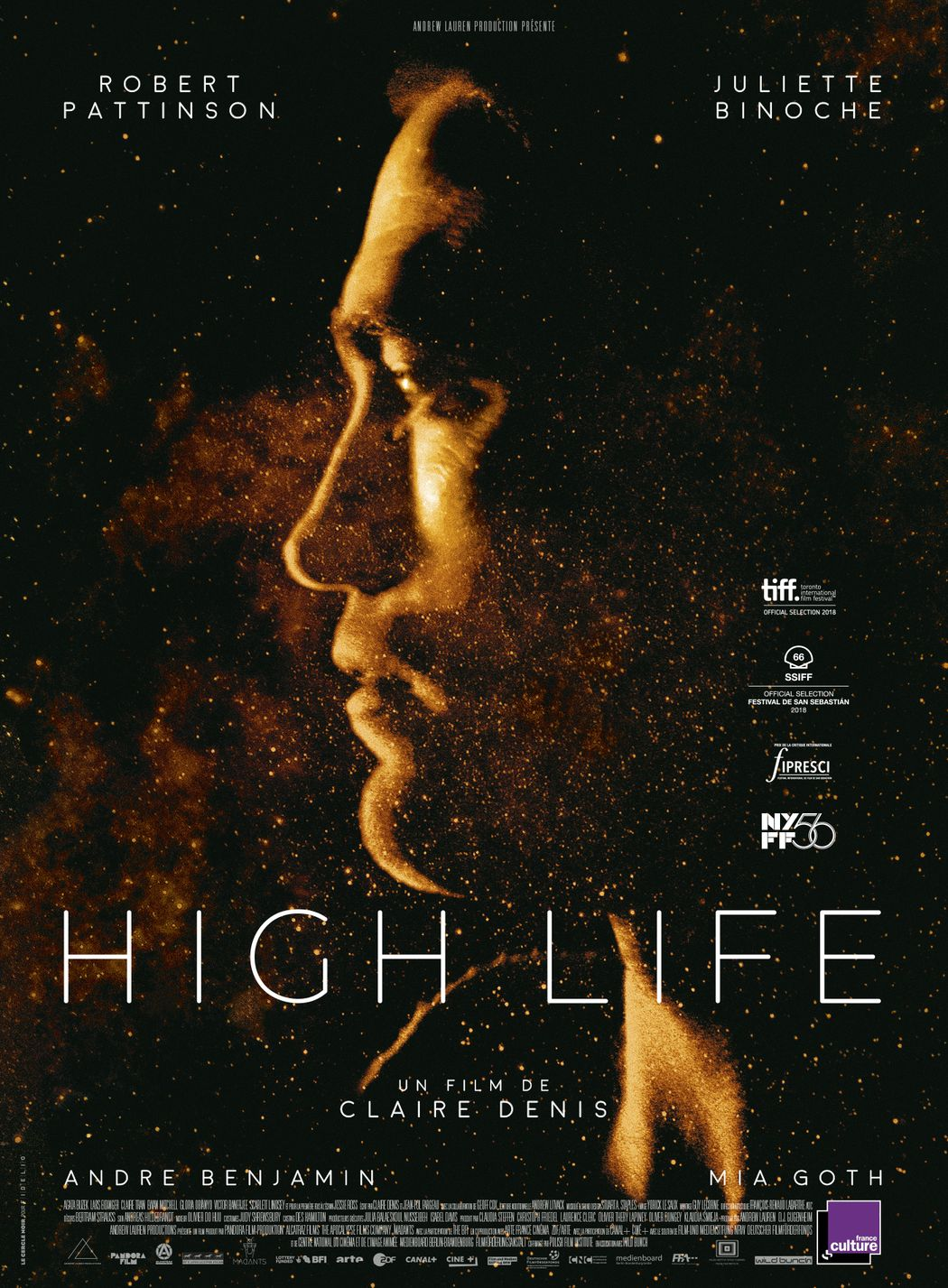 French Film Festival 19': Movie poster of High Life.