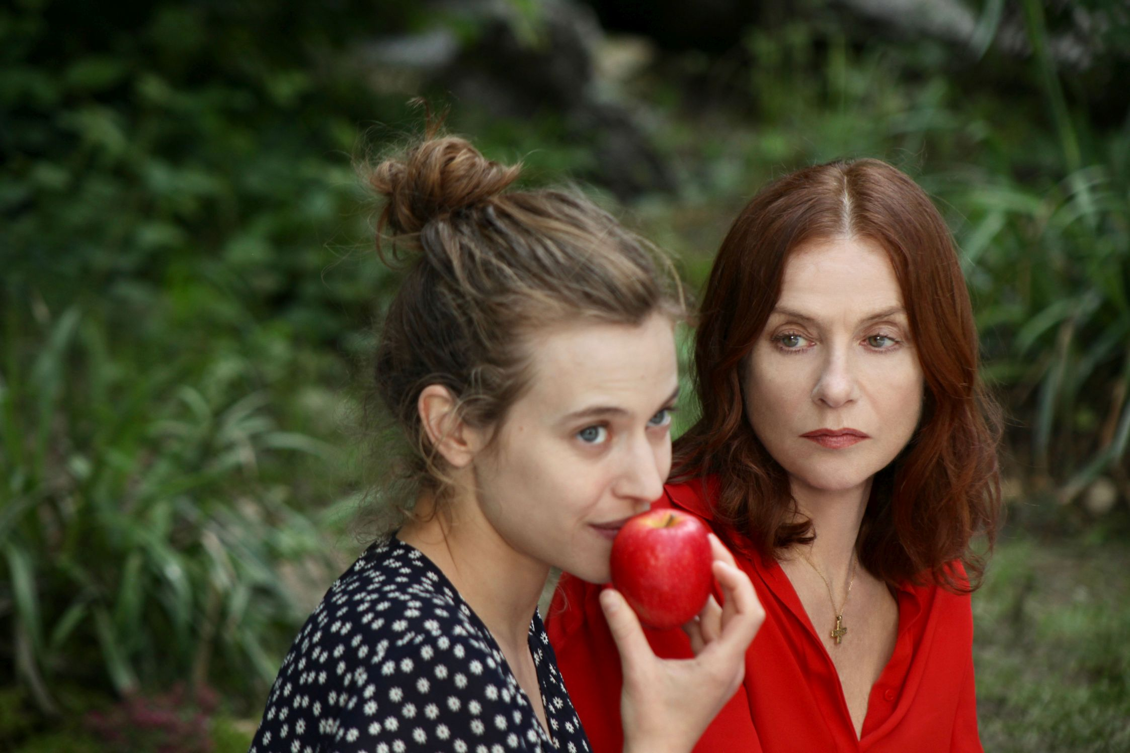 French Film Festival 19', 'Pure As Snow': Claire with her stepmother Maud at a picnic in a forest.
