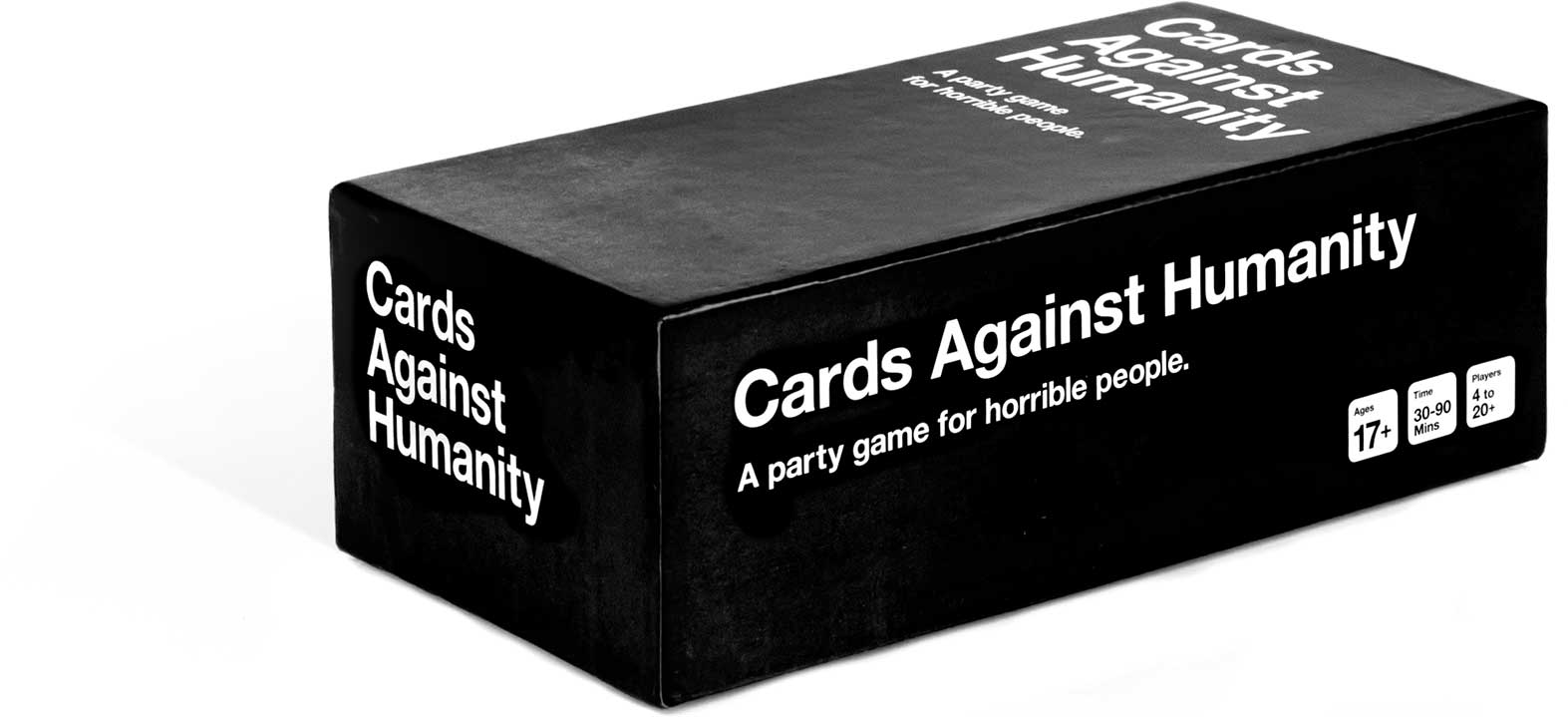 The main deck of Cards Against Humanity