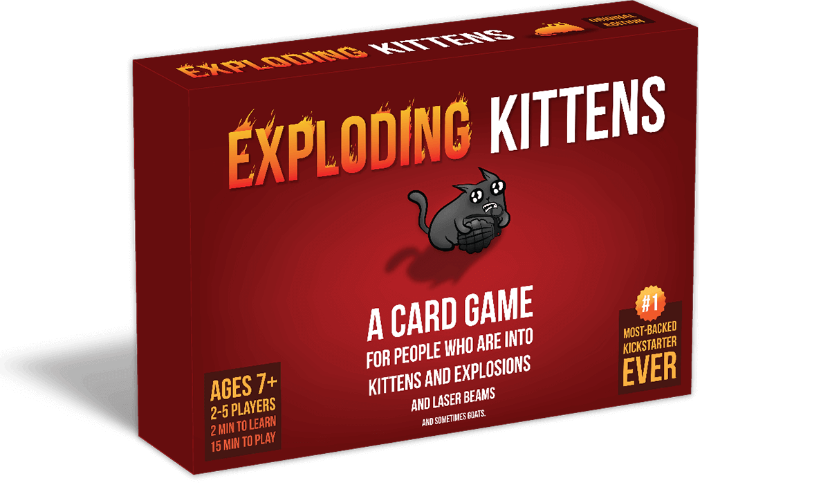 Exploding Kittens, the hit card game