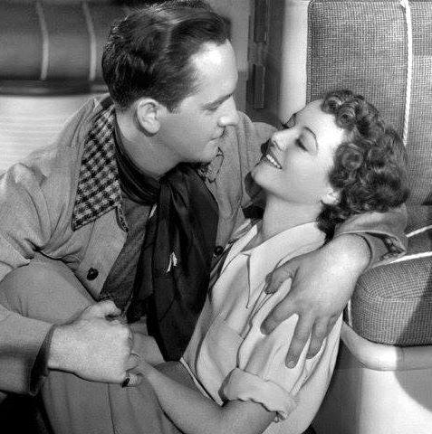 Fredric March and Janet Gaynor as Norman & Esther