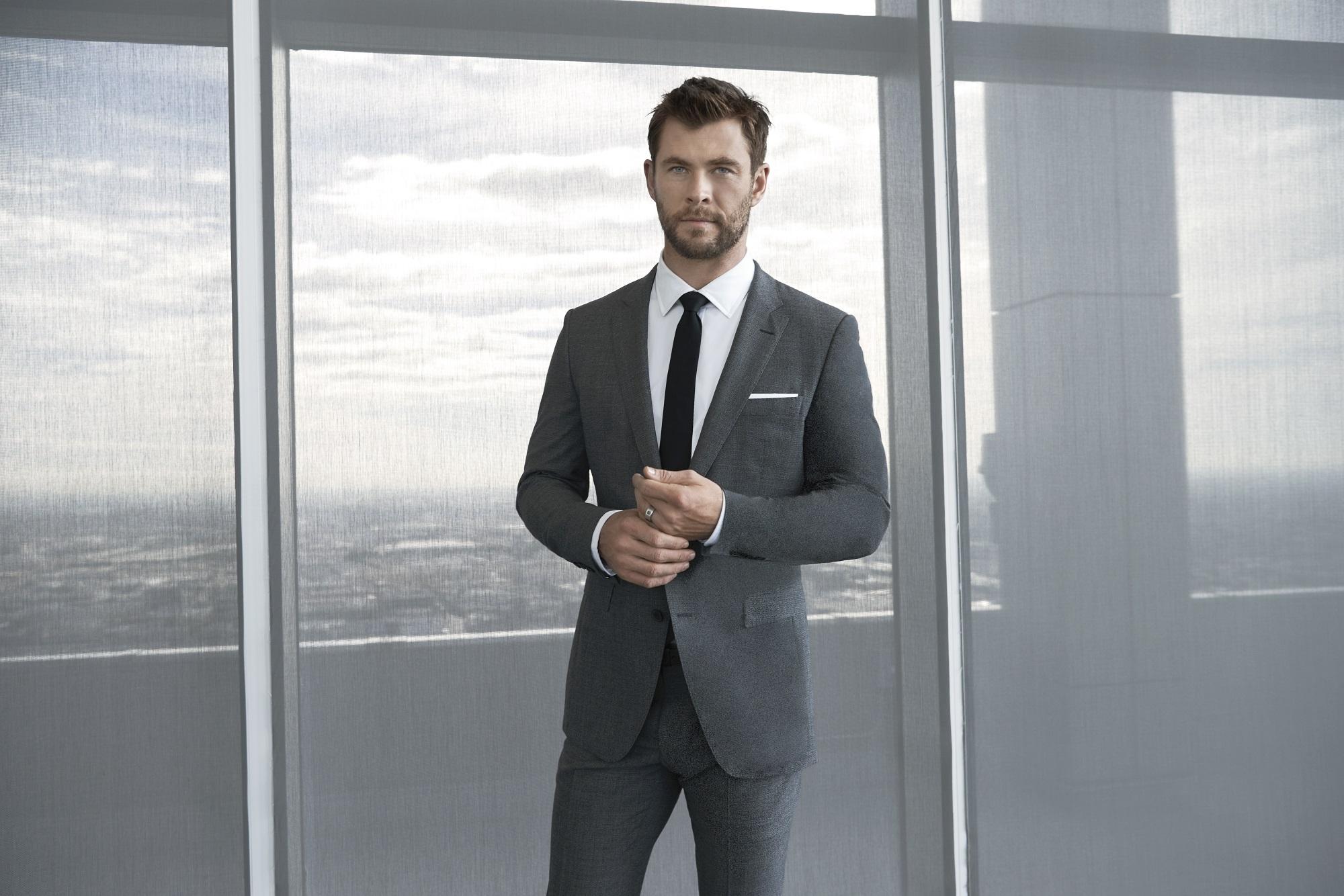 Chris Hemsworth Boss Werbung