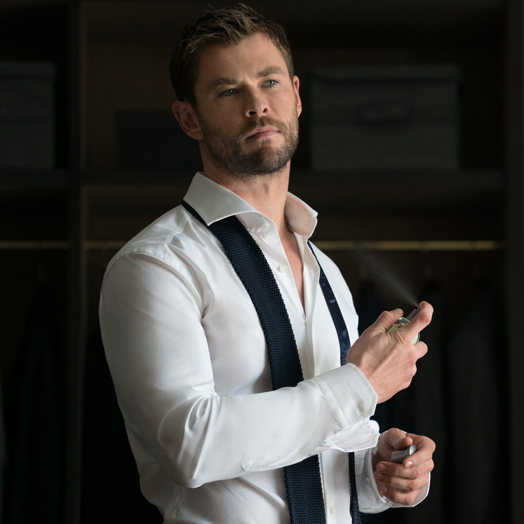 Hugo Boss: Chris Hemsworth using the classic BOSS Bottled