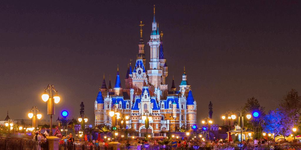 Shanghai: Shanghai Disneyland.