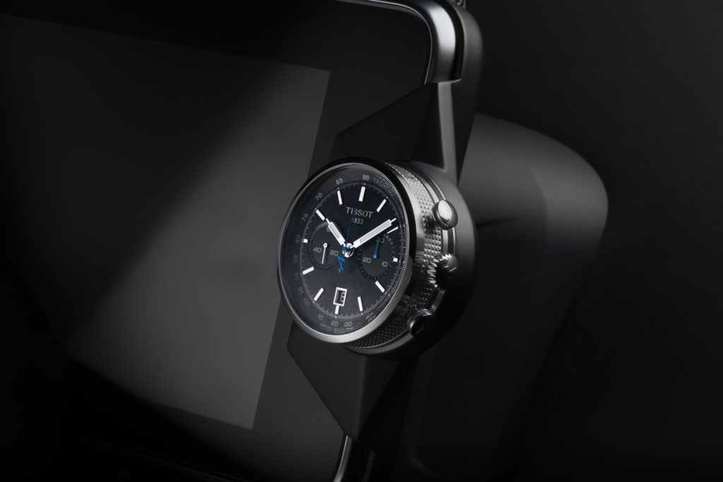 Tissot Alpine On Board Automatic in steel with leather strap