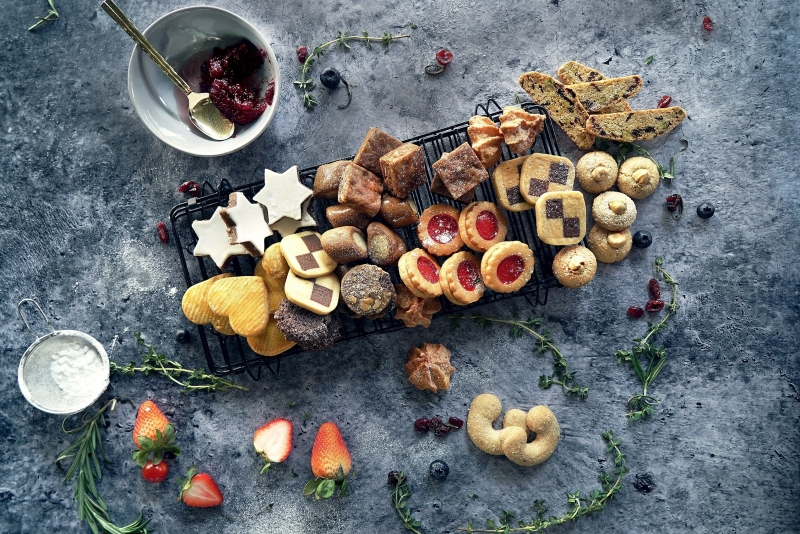 Festive Feasting 2019 - Kitchen Language Catering offers a whole slew of Christmas cookies