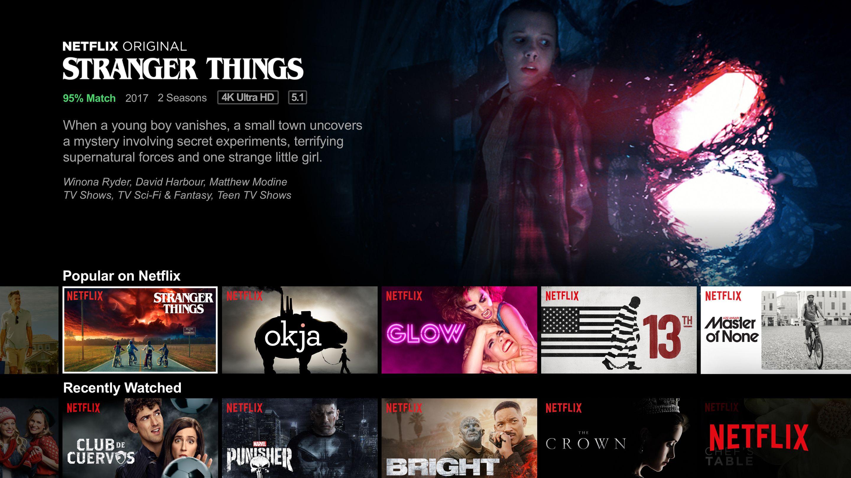 Netflix versus the other streaming sites: Netflix