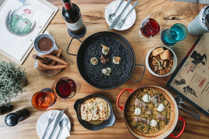 Festive feasts - FOC Pim Pam's relaxed Spanish meals that don't skimp on flavour