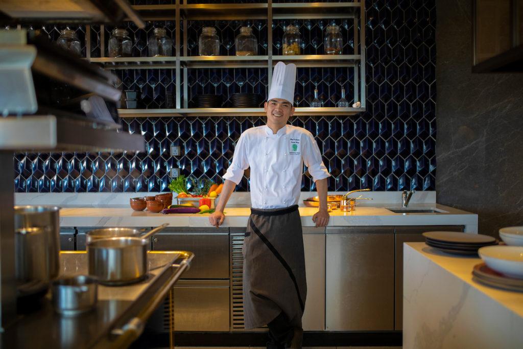 Chef De Cuisine Daniel Wong Horizon Grill, Banyan Tree Kuala Lumpur