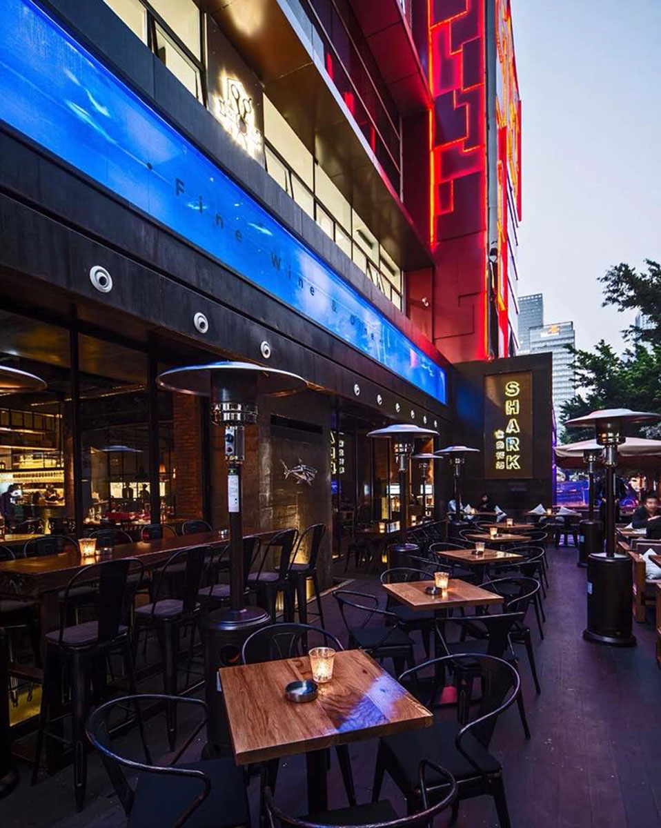 Shenzhen Travel Guide: The exterior of Shark restaurant