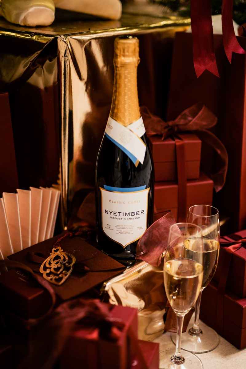 Nyetimber's Classic Cuvee raises the spirits at any festive feast