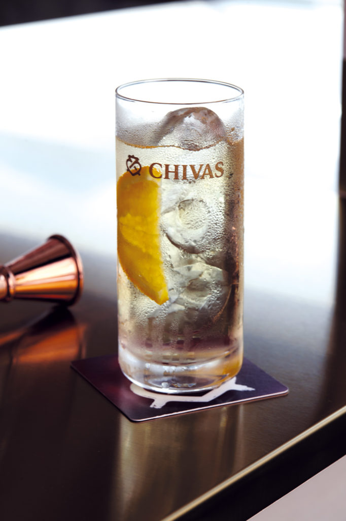 Whisky-based DIY cocktails: Chivas Sonic