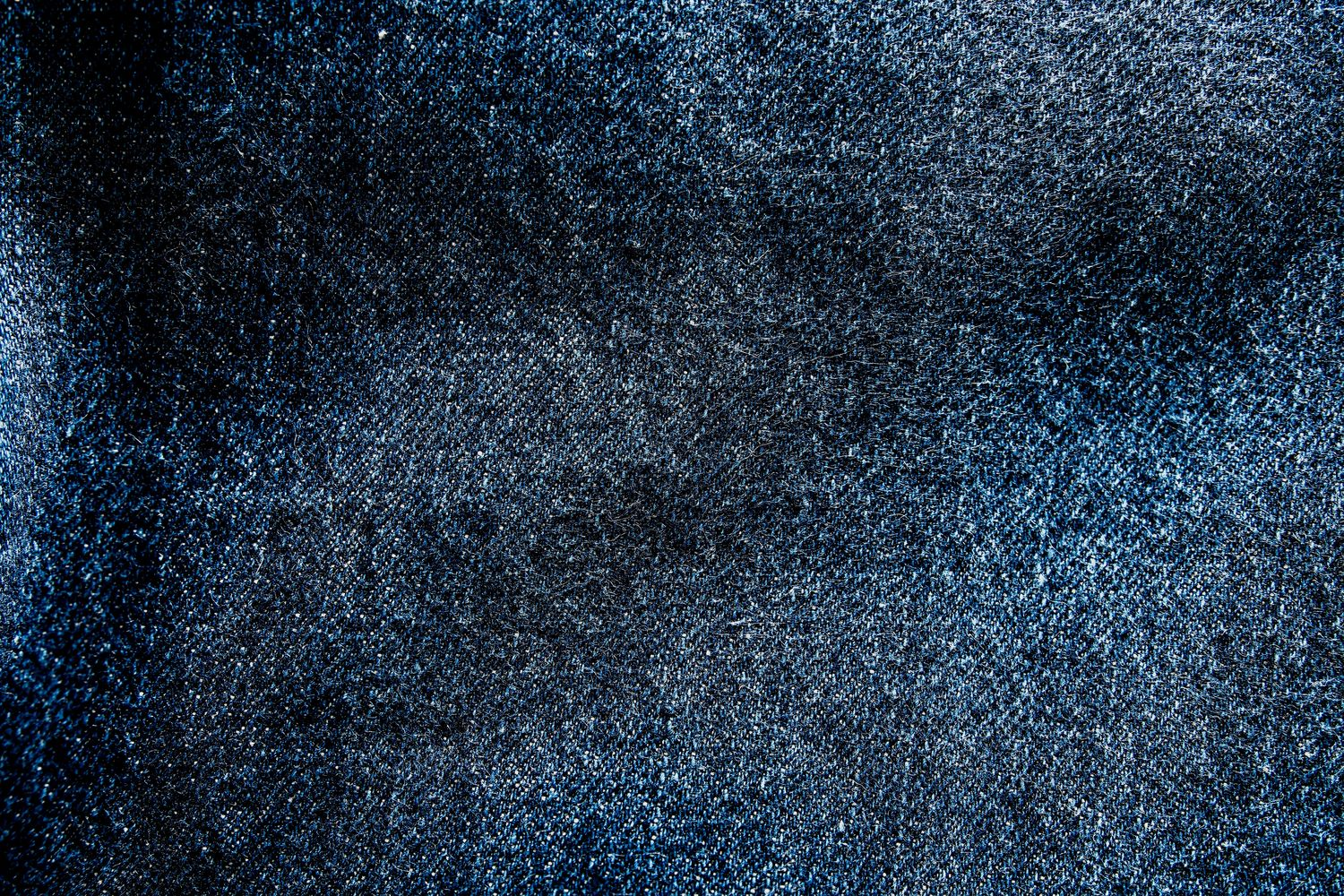Deep indigo is a favourite with raw denim enthusiasts