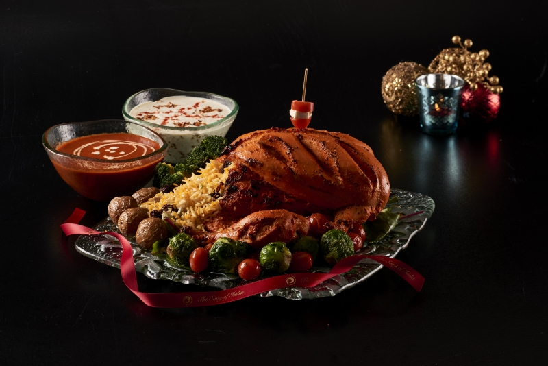 Prefer indie portions? Try a Tandoori capon and bryani rice from Song Of India