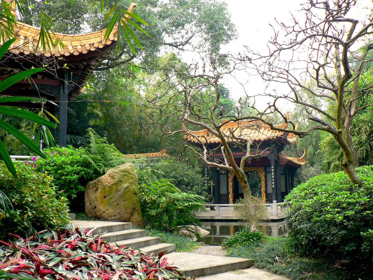 Guangzhou travel guide Orchid Garden